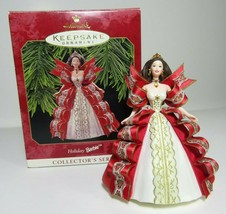 1997 Collectors Series Holiday Barbie Hallmark Keepsake Ornament Christmas #5 - $7.69