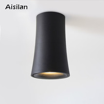 Aisilan Nordic LED Downlight Surface Mounted Ceiling Lamps AC85 260V Spo... - €44,48 EUR