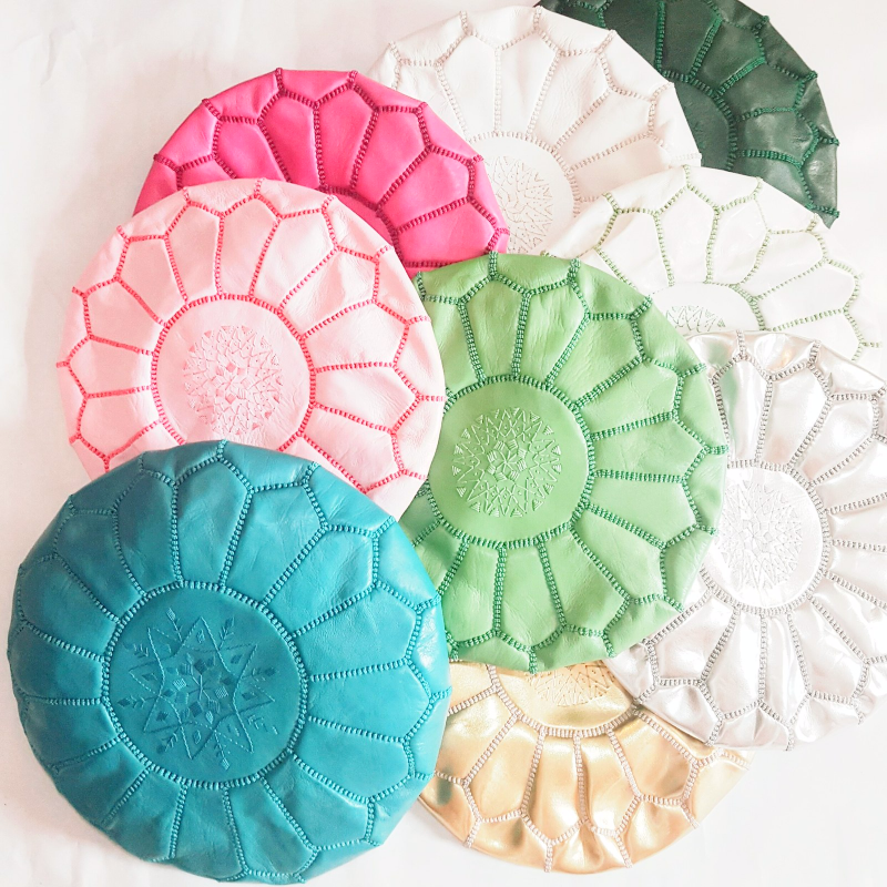 "The ""Boufa ""   Mini Poufs for nursery or yoga"
