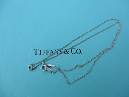 100% Genuine Tiffany & Co. aquamarine by the yard necklace - sterling silver - $143.96