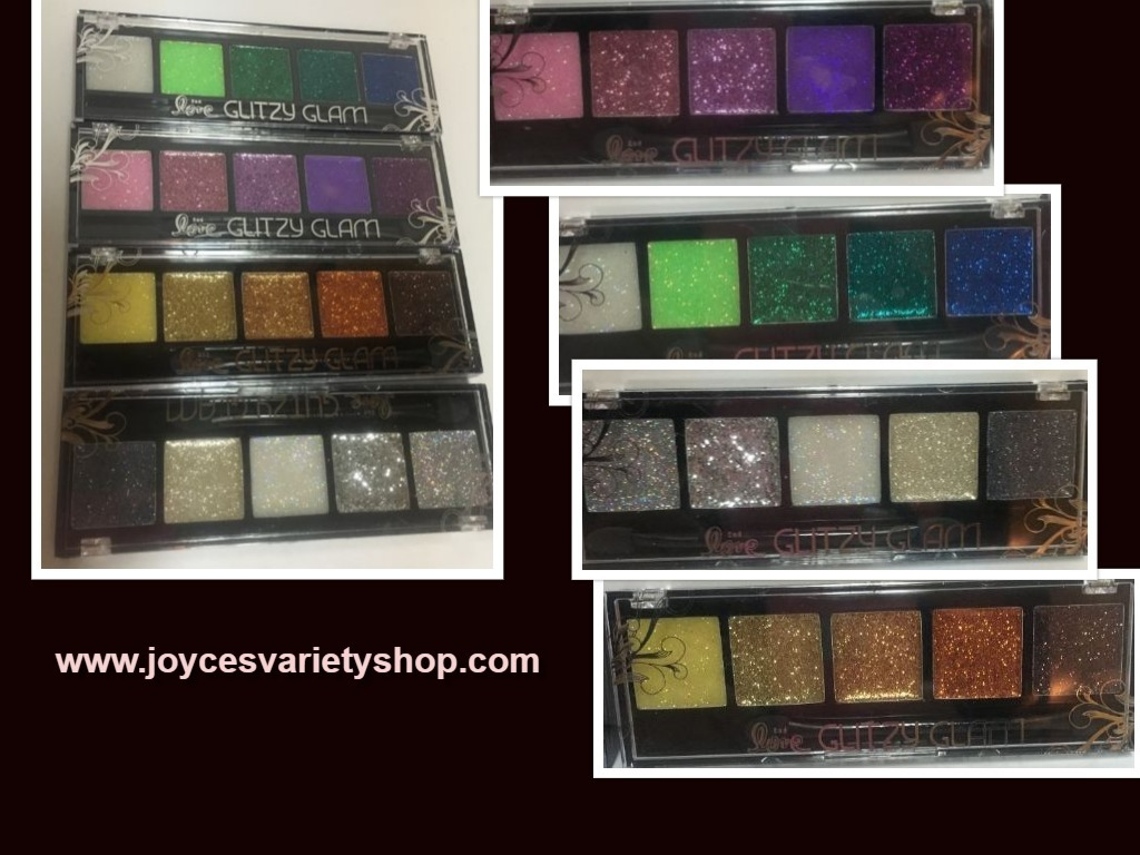 Primary image for Glitzy Glam Sparkly Eye Shadow Multiple Colors Silver Gold Purple Green