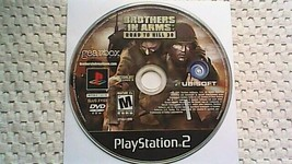 Brothers in Arms: Road to Hill 30 (Sony PlayStation 2, 2005) - $3.95