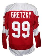 Any Name Number Soo Greyhounds Retro Hockey Gretzky Jersey Red Any Size image 5