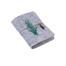 "Wool Felt Cover Rural Travel Diary/Journal Planner/Notebook-6""X4""-A7#7 - $32.28"