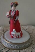 AVON 1997 (#20) ~ Mrs. P.F.E. Albee Porcelain Figurine Under Globe ~ Min... - £21.15 GBP