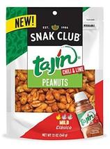 Snak Club Tajin Clasico Peanuts, 12-oz., 6-Count