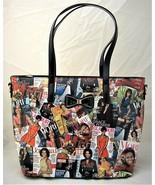 Michelle & Barack Obama Magazine Cover Large Tote Style Purse - $44.99