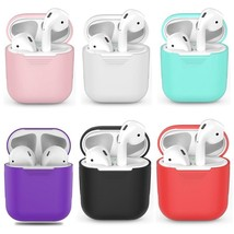Soft Silicone Case For Apple Airpods Shockproof Cover For Apple AirPods ... - $1.57