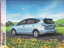 2013 Toyota PRIUS V HYBRID sales brochure catalog 13 US - $8.00