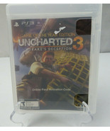 PS3 Uncharted 3 - Drake's Deception Video Game - $5.00