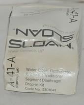 Sloan Water Closet Flushometer Repair Kit Traditional Segment Diaphragm image 1