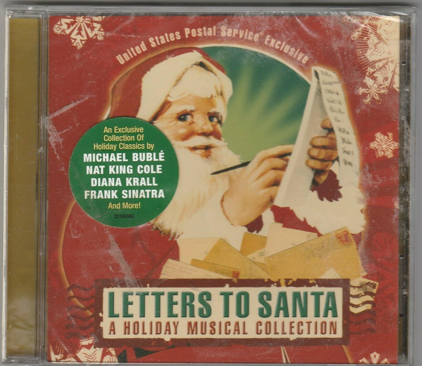 Primary image for Letters to Santa  A Holiday Musical Collection by the USPS & Concord Records