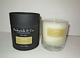 Pickwick & Co new Scented Candle 10 oz NIB Glass Jar COZY Kansas City - $27.00
