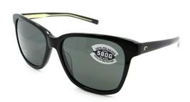 Costa Del Mar Sunglasses May 11 Shiny Black / Gray 580G Glass Polarized - $164.15