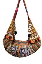 Indian Banjara Embroidery Patchwork Vintage Bohemian Boho handbag Woman Bag - $94.05