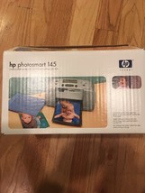 HP Photosmart 145 Compact Digital Photo Inkjet Printer New in Open Box NOS - $36.76