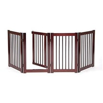 Dog Gate For The House Freestanding Puppy Small Animal With Walk Through... - $134.99
