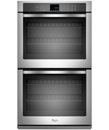 Whirlpool WOD51EC0AS 30 Inch Double Electric Wall Oven in Stainless Steel - $1,531.48