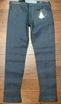 Armani Exchange $150 A|X J75 Mens Slim Fit Stretch Cotton Gray Jeans 31R... - $69.29