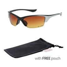 HD+ Vision High Definition Wrap Around Men Women Sport Sunglasses Black Black - $7.99