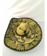 Pigalle XXXXX Sombrero Mariachi Lime Green Authentic Adult Vintage Cinco... - $39.59