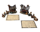 Boyds Bearly Built Villages Ol MacDonald's Bank Barn 19047 Murphy's Mill and... - £57.57 GBP