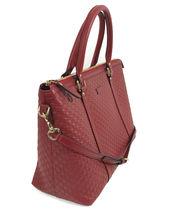 NEW GUCCI Microguccissima Leather Zip Top Crossbody Handbag image 6