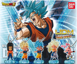 Dragon Ball Super UDM Ultimate Deformed Mascot THE BEST 33 All 5 type set Full - $19.99