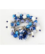 Pokemon Bracelet, Meowstic Bracelet, Stainless Steel Chain Bracelet, Pok... - $47.00