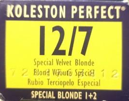 Wella Koleston Creme Haircolor 1+1 12/7 Special Velvet Blonde - $6.79