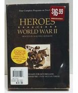Heroes of World War II Hosted by Walter Cronkite 2 discs set. New Sealed - $10.00