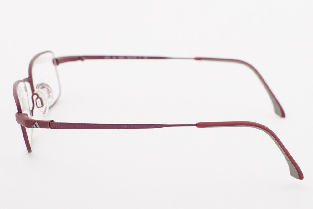 Adidas A973 40 6062 Matte Burgundy Eyeglasses 973 406062 45mm