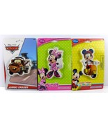 Disney Minnie And Mickey Mouse And Cars Mater Jumbo Erasers (Set of 3) - $11.87