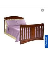 Simmons Kids Wood Full Size Bed Rail - Espresso Truffle - $177.21
