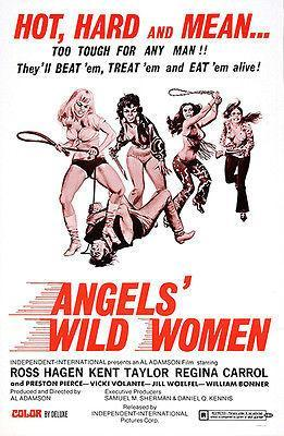 Primary image for Angels' Wild Women - 1972 - Movie Poster