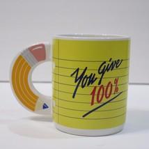 AVON, A+Teacher, You Give 100%, Coffee Mug - $4.06