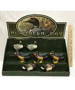 Northern Bay Wild Duck Series Display Box & 7 Figures Mallard Wood Duck ... - $27.71