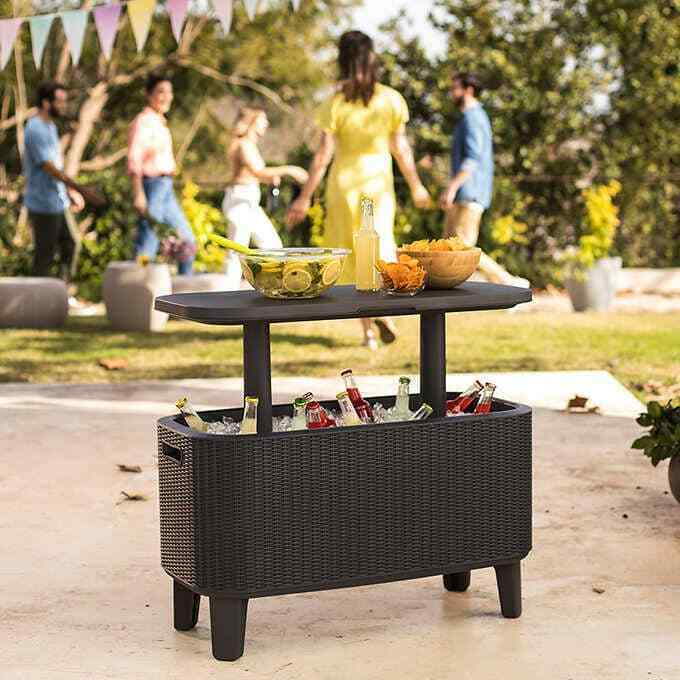 Primary image for NEW Keter Bevy Bar Table and Cooler Combo FREE SHIPPING