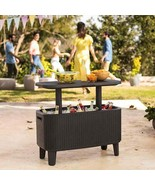 NEW Keter Bevy Bar Table and Cooler Combo FREE SHIPPING - $169.99