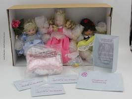 "Marie Osmond ""Disney Tiny Tot Trio"" Baby Cinderella Sleeping Beauty Snow... - $85.00"
