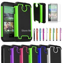 Impact Heavy Duty Double protection Shockproof Silicone Rubber Hybird Case Cover - $10.11+