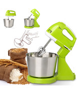 7 Speed Electric Egg Beater Dough Cakes Bread Egg Stand Mixer + Hand Ble... - $49.49