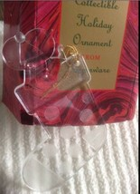 Tupperware Mouse In Stocking Acrylic Christmas Collectible Ornament (new) - $3.95