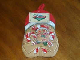 NWT Barth & Dreyfuss CHRISTMAS Pot Holder & Magnet Holiday Gingerbread C... - $9.99