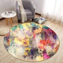 3D Sunflower Garden 2 Non Slip Rug Mat Room Mat Round Quality Elegant Carpet AU - $65.06+