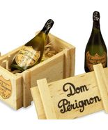 DOLLHOUSE Gift Crate World-famous Luxury Champagne Reutter 1.860/6 Minia... - $28.90