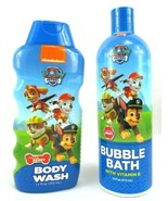 Nickelodeon's Paw Patrol Body Wash & Bubble Bath w/ Vitamin E Pup Pup Berry - $8.92