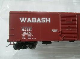 Bowser #42463 Wabash NJI&I Flour Loading 40' Boxcar  HO Scale image 2