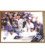 TREVOR STORY RC 2016 TOPPS ROOKIE CARD-COLORADO ROCKIES RC - $9.89