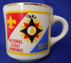 Vintage National Scout Jamboree 1977 Boy Scouts B.S.A Coffee Mug Cup - $3.50